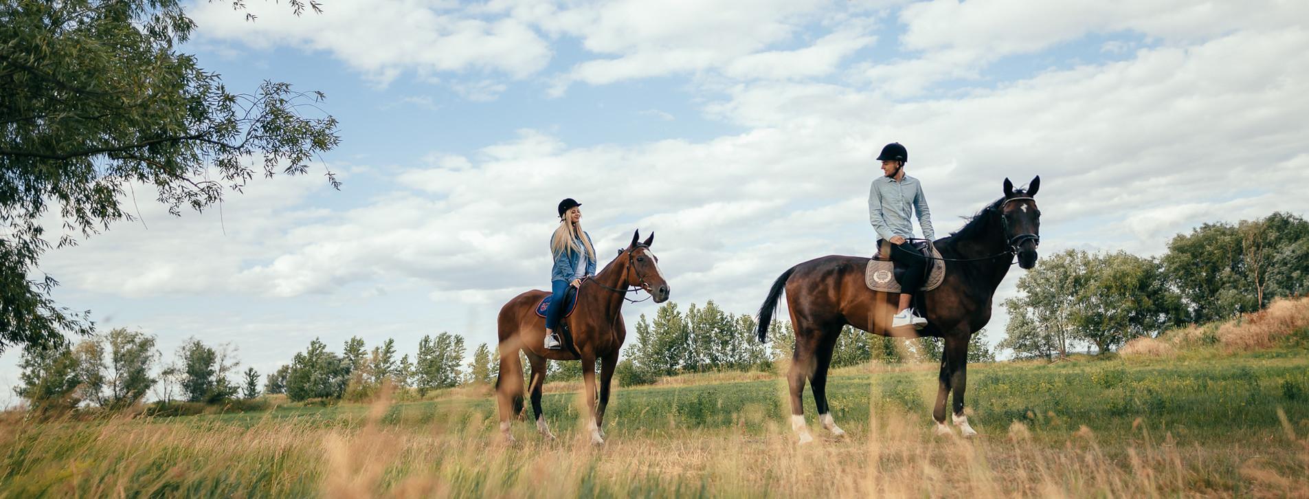 Фото - Прогулянка на конях для двох Long
