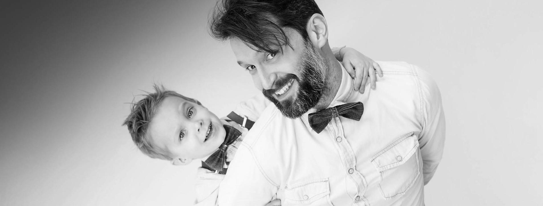 Фото - Стрижка для тата і сина
