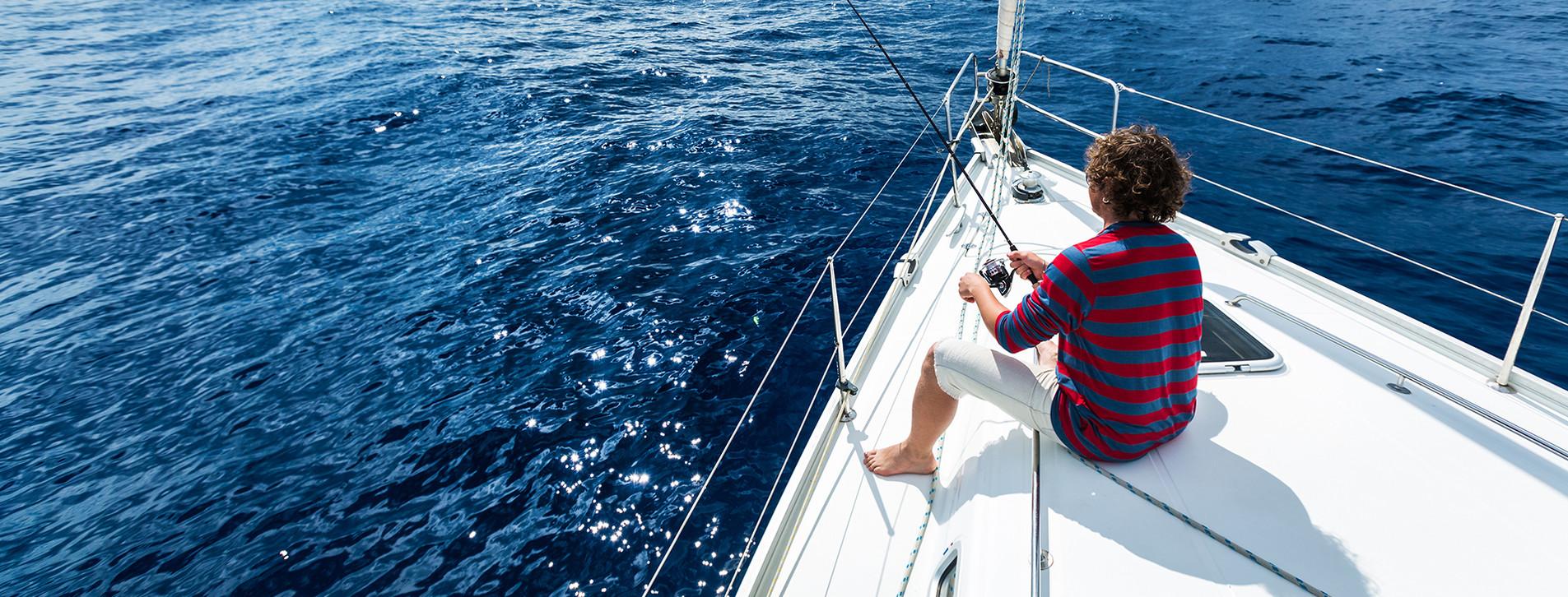 Фото - Рыбалка в открытом море для двоих